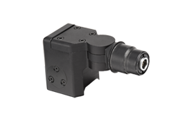 Picatinny Rail Mount:  Allows the attachment of a wide range of Wolf Pack cameras to standard Picatinny rails. When used in conjunction with a Wolf Pack DH2d micro-display and power source, users can configure a super-compact, high mobility system assembly for challenging tactical environments.