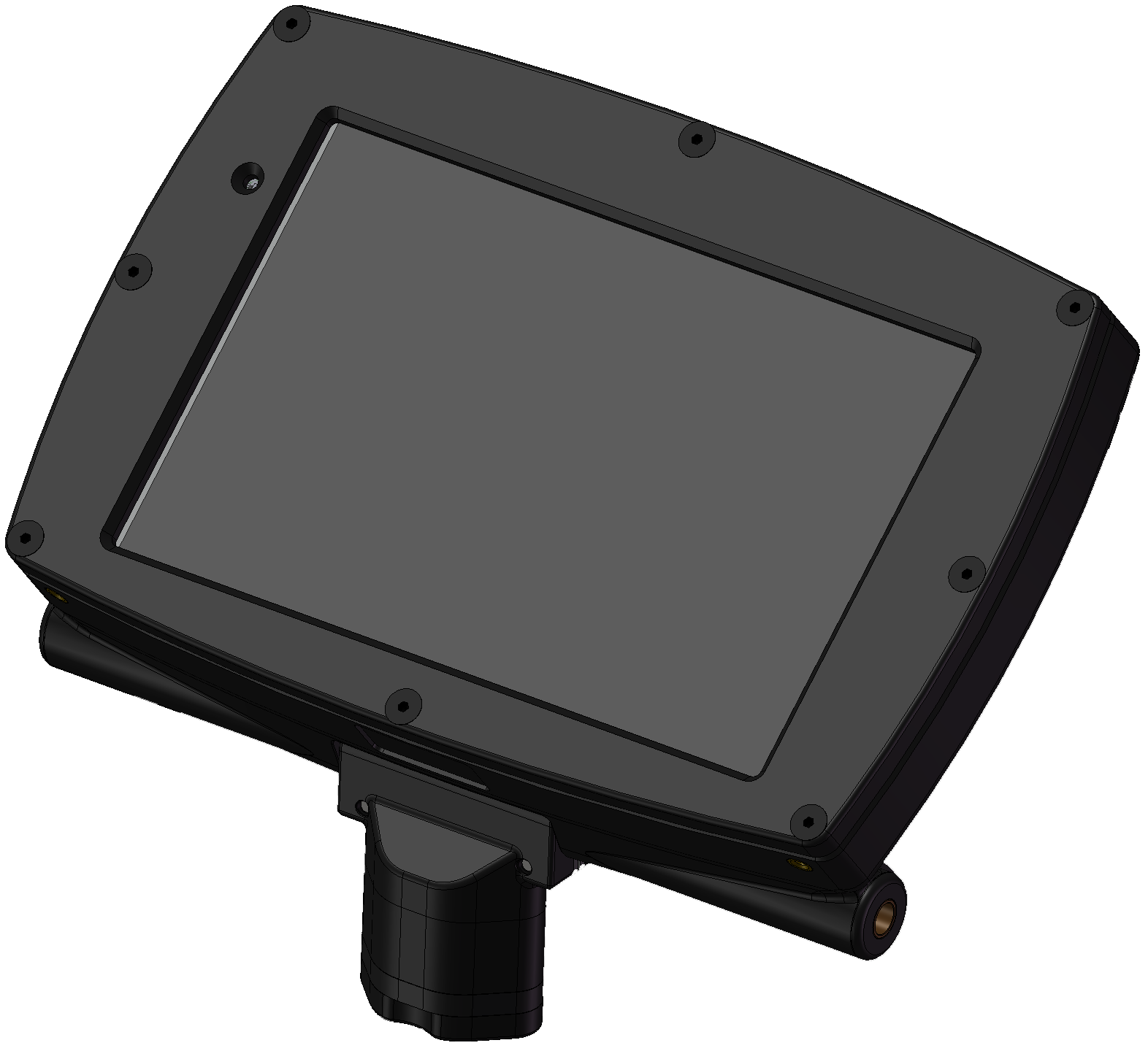 - DF3d full HD display with built-in recording and wireless connectivity is one of the most rugged flat panel monitors in the world.