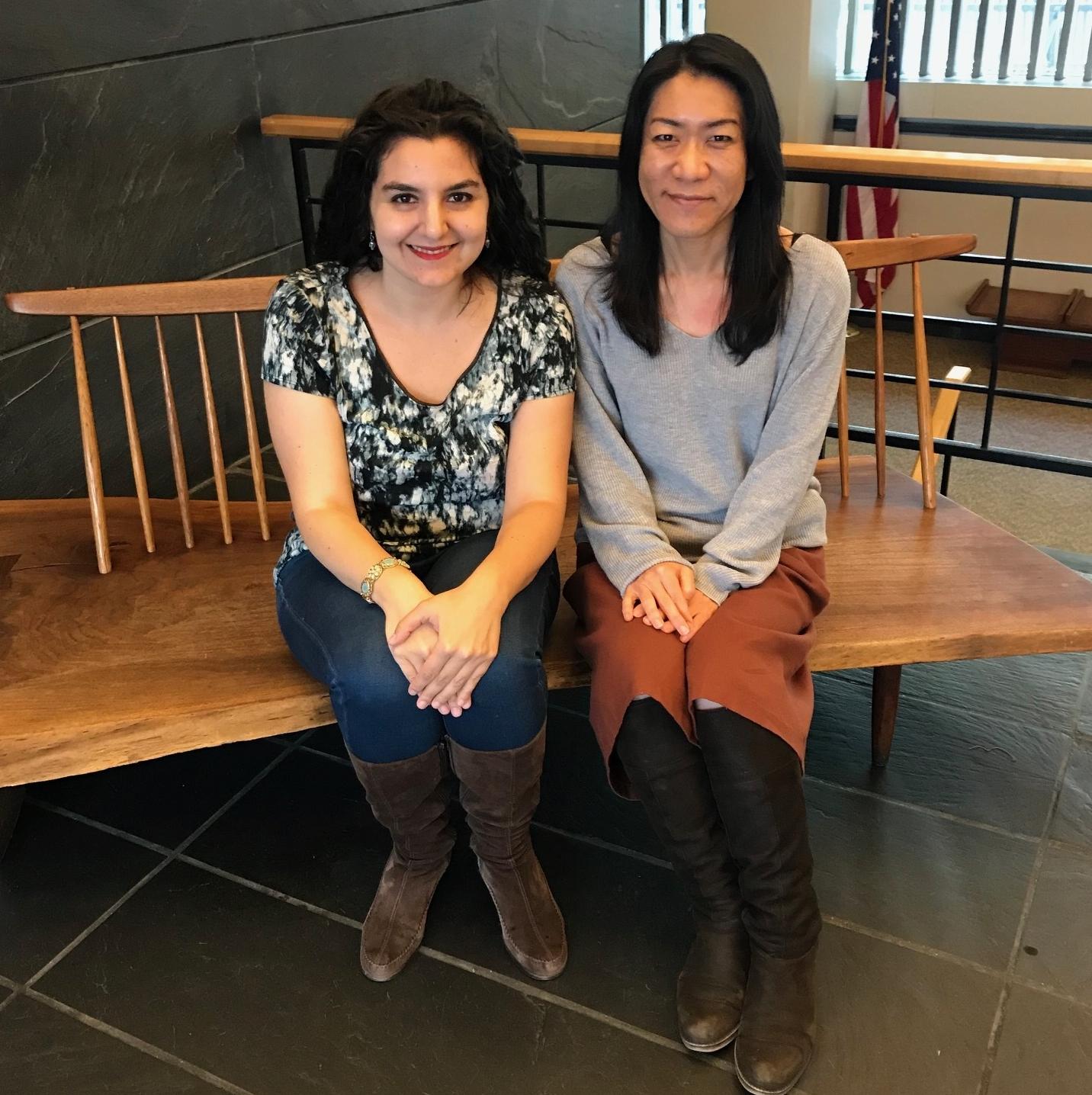 Rachel Kahn '00 & Yukako Yamazoe