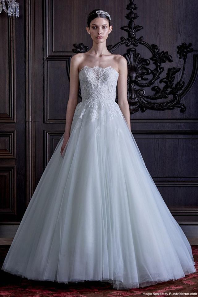 Monique Lhuillier Sample Bridal Gowns Discount Designer