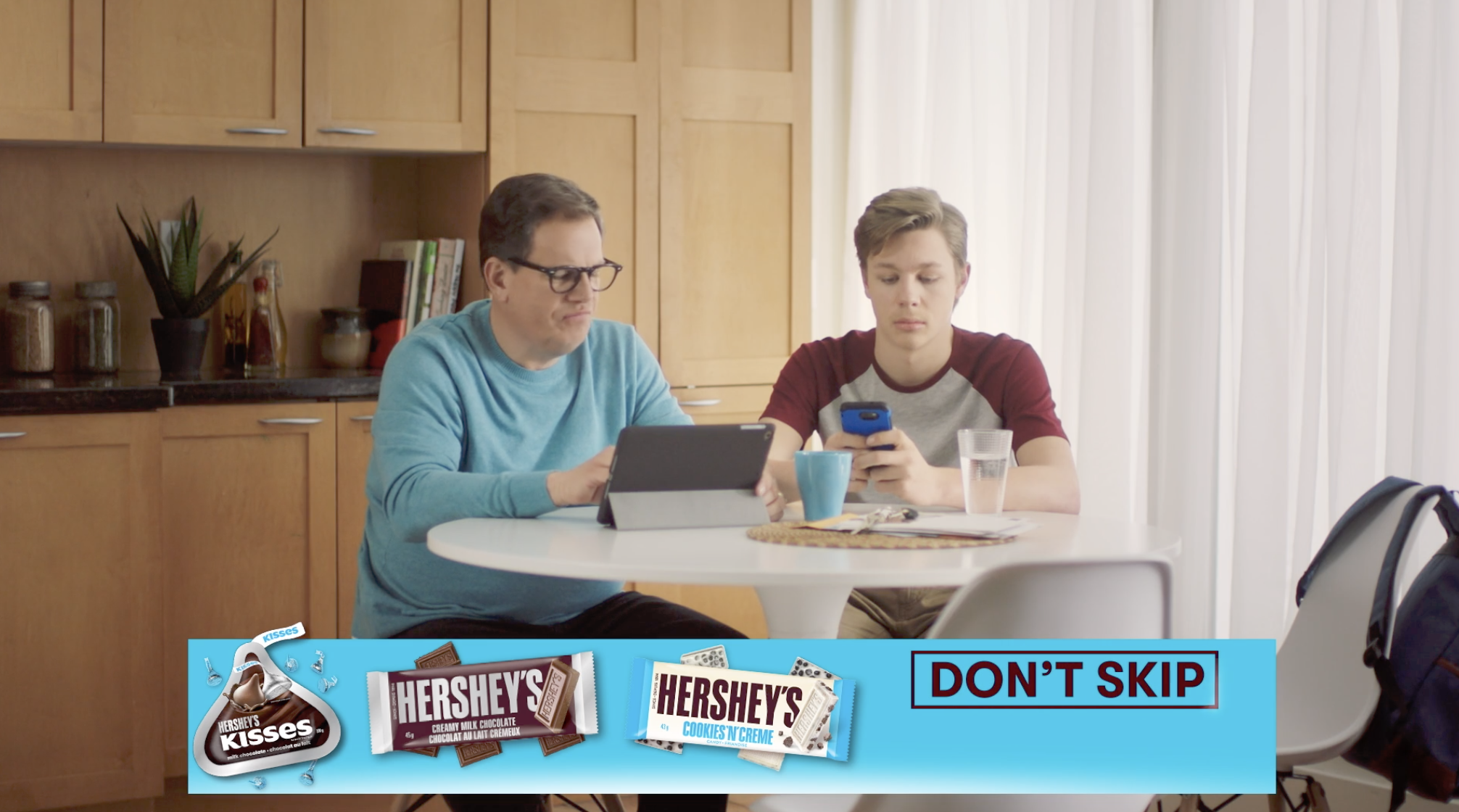 Hershey's chocolate broadcast campaign directed by Amit Metha // Fancy Content production company