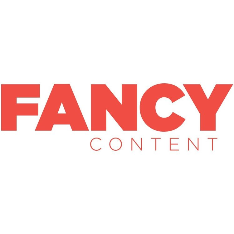 Fancy Content production company logo. Represented by Miller + Miller l A Creative Production Talent Agency