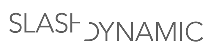 Slash Dynamic logo represented by Miller + Miller l A Creative Production Talent Agency