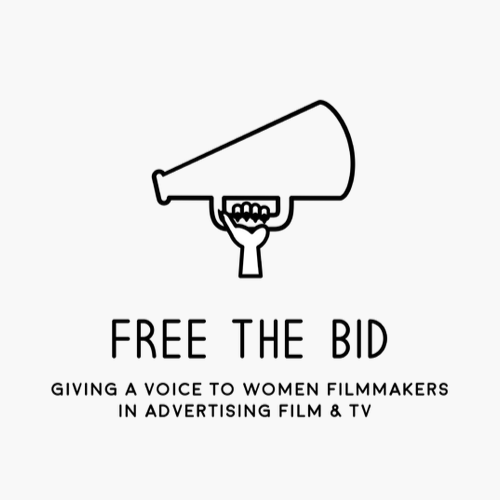 Free The Bid Logo - Miller + Miller l A Creative Production Talent Agency supports this mission.