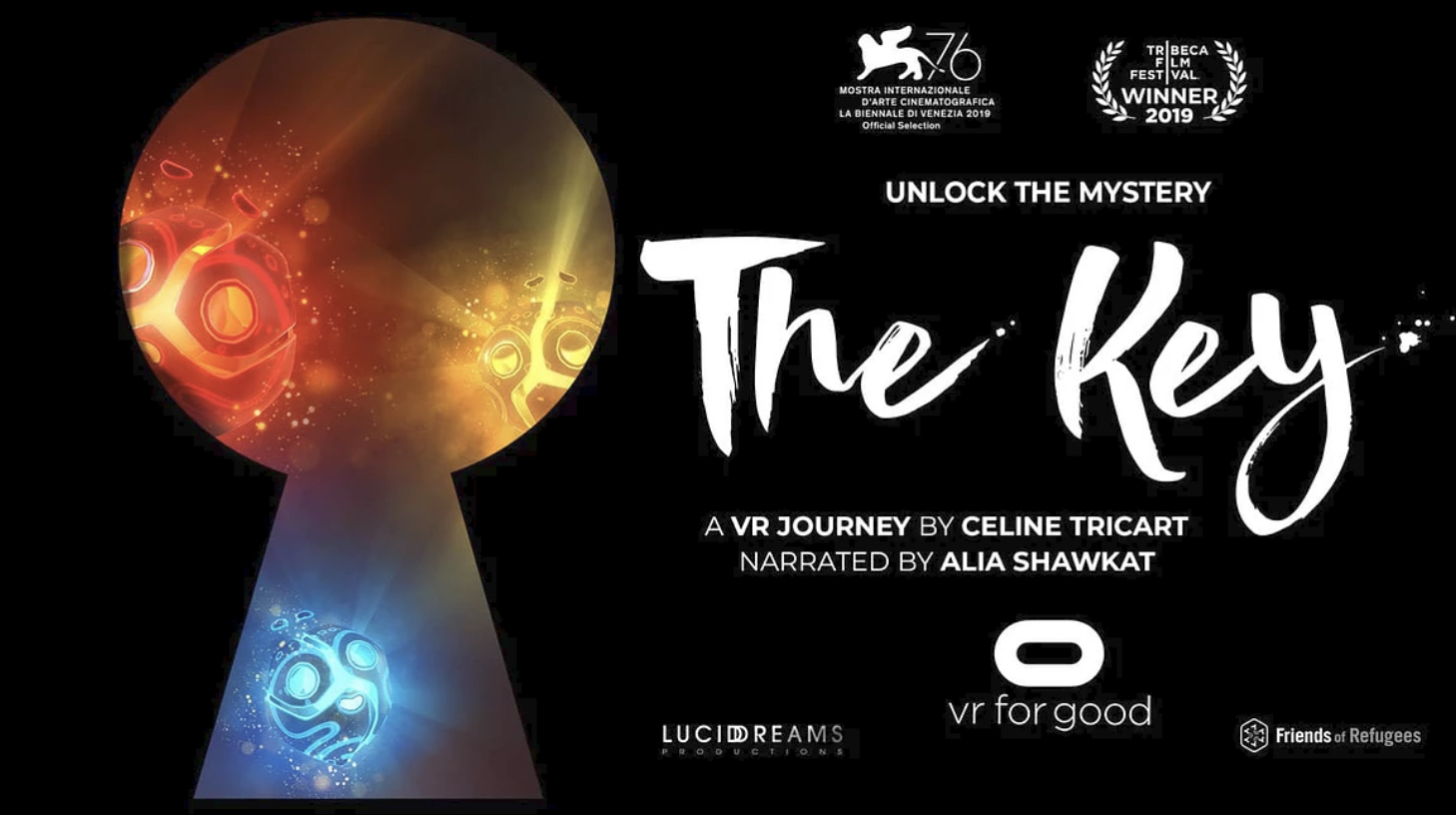 The Key VR Film from Celine Tricart, Miller + Miller l A Creative Production Talent Agency