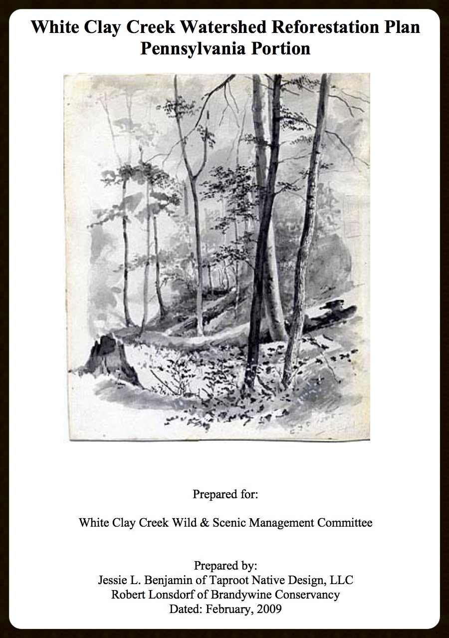 White Clay Creek Reforestation Plan (2009)