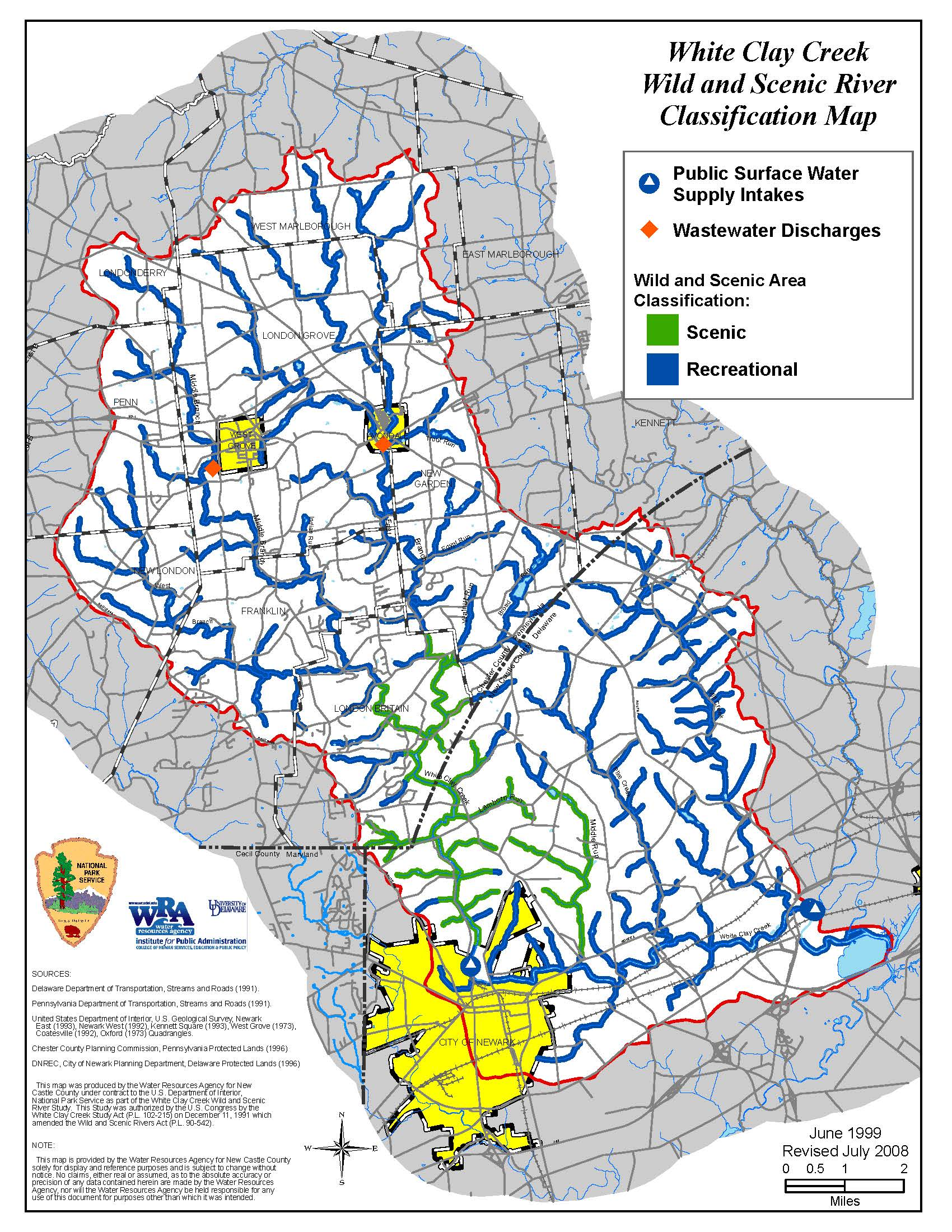 Wild & Scenic River Classifications