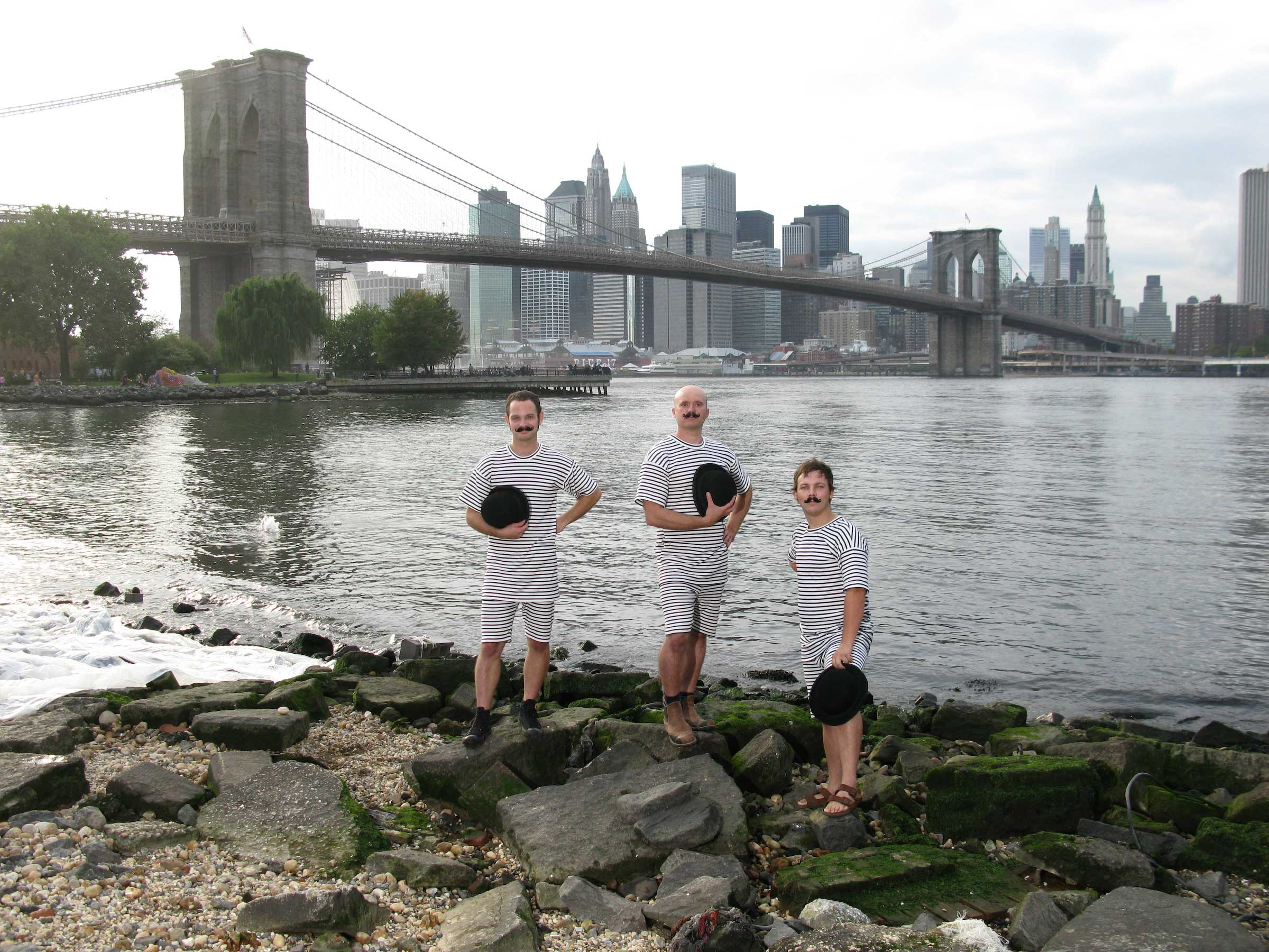 1. H2O Collective From Left to Right. Landon Jones, Patrick Visentin and Justin Parr