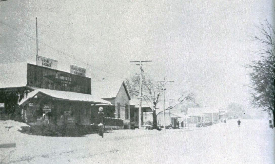 View of Washington Street, Burton.