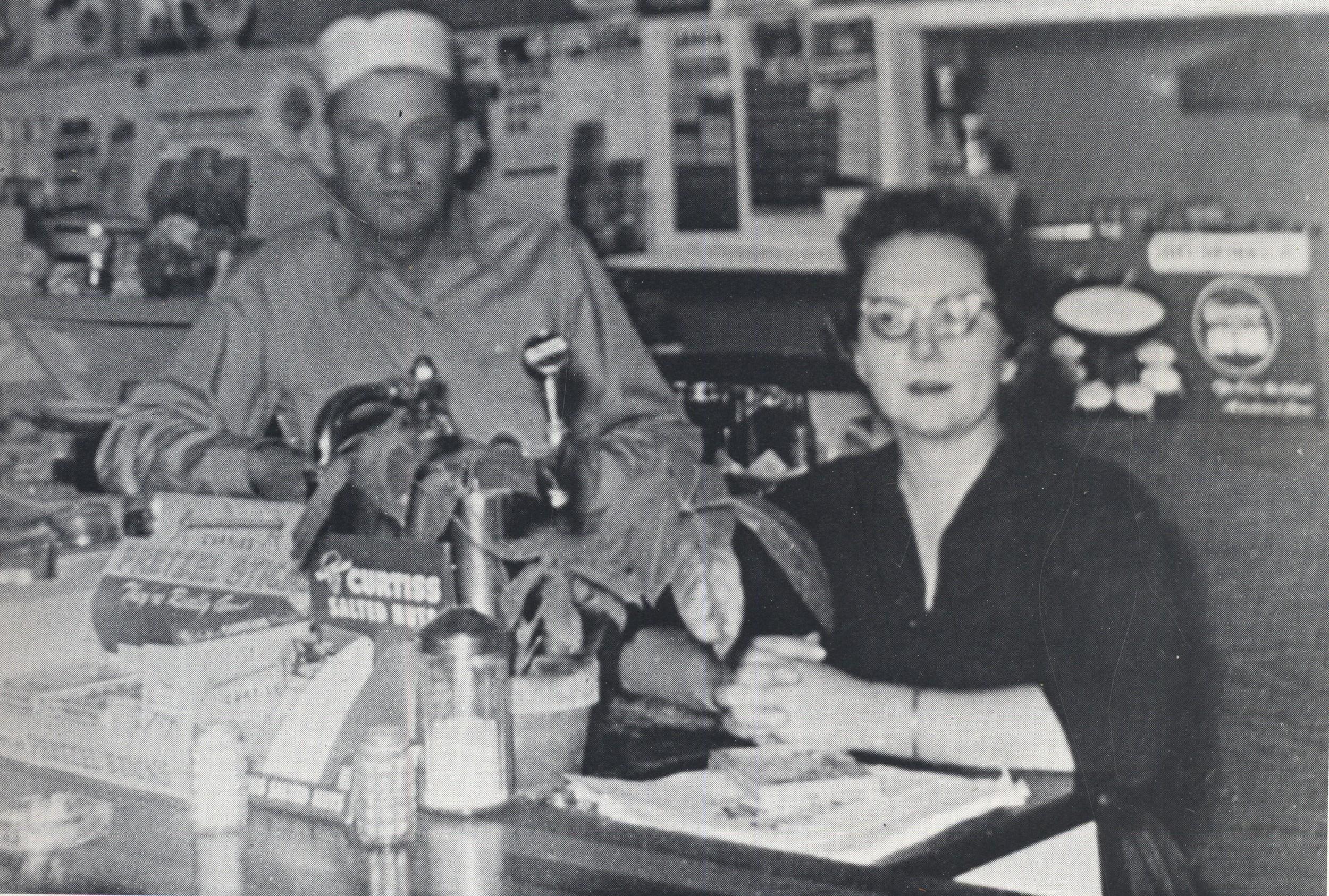 White Horse Cafe, 1950s.