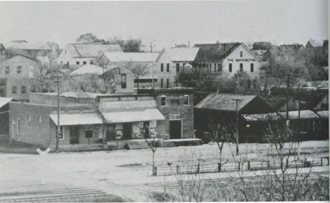 Railroad Street, 1900s.