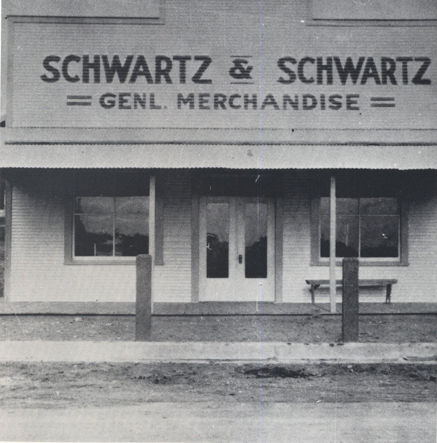 Schwartz & Schwartz Store, 1920s.