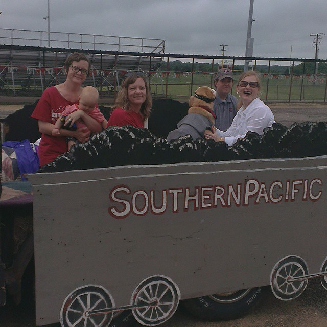 Cotton gin parade 2015