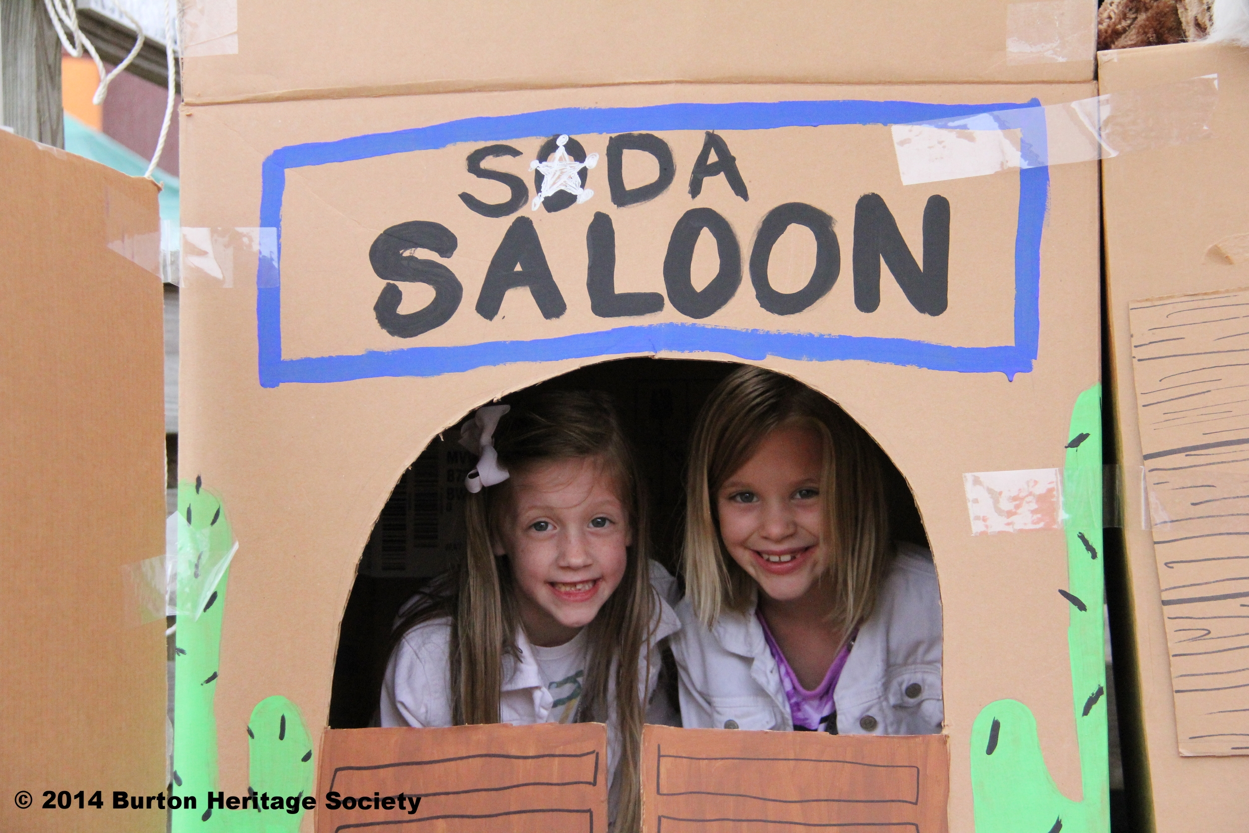 "Kids can play in Lil' Rangerville and visit the ""soda saloon."""