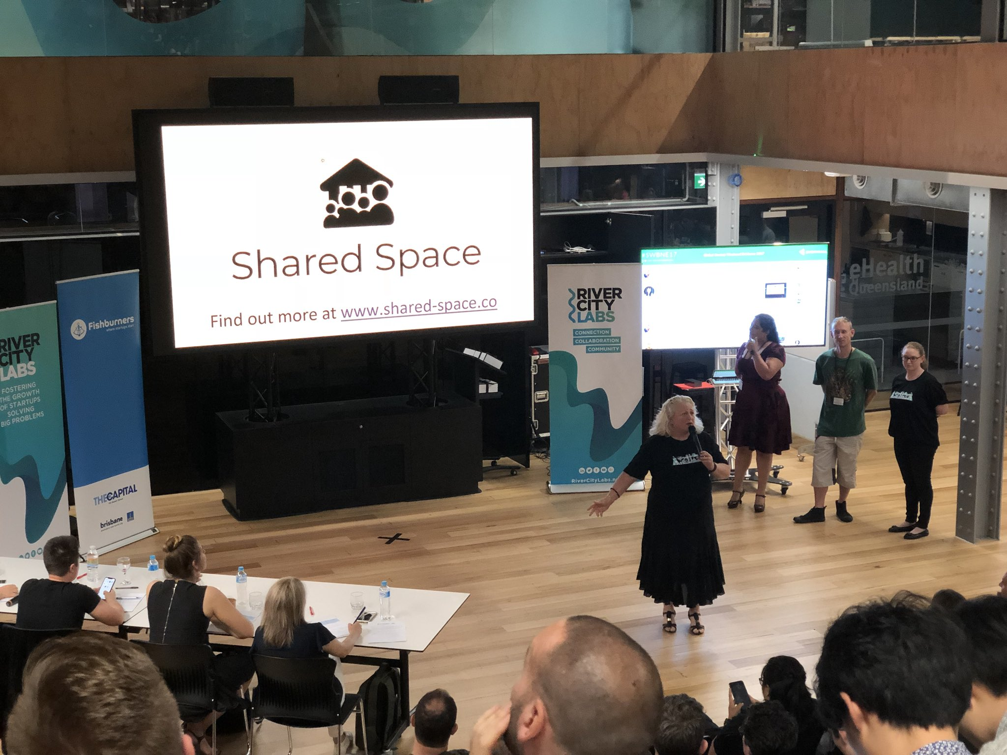 Shared Space Team Making Final Pitch