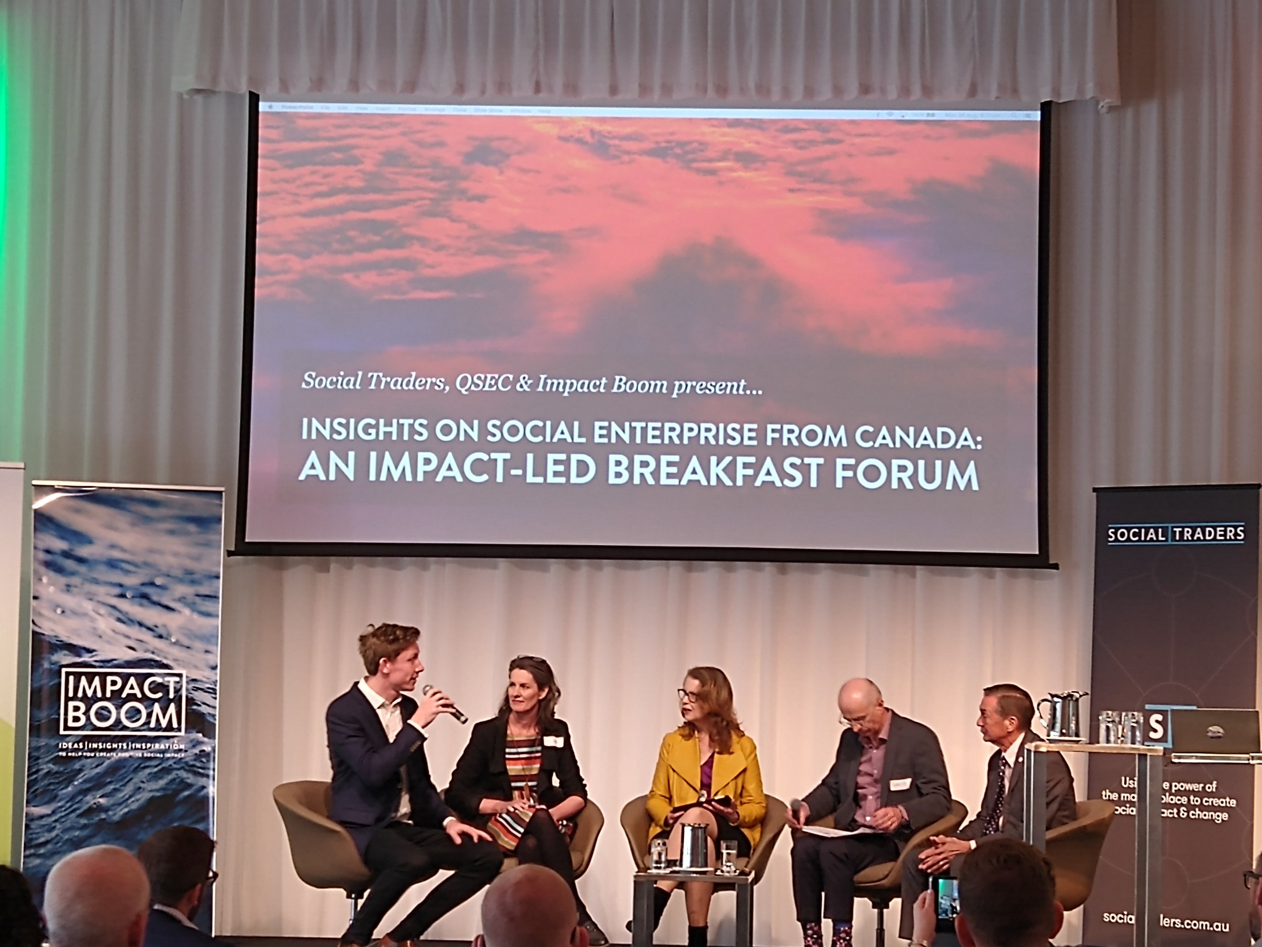 Insights on Social Enterprise from Canada: An Impact-Led Breakfast Forum