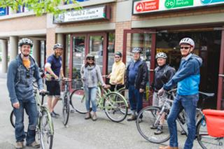 Bike Tours Starting Point! Cycle BC