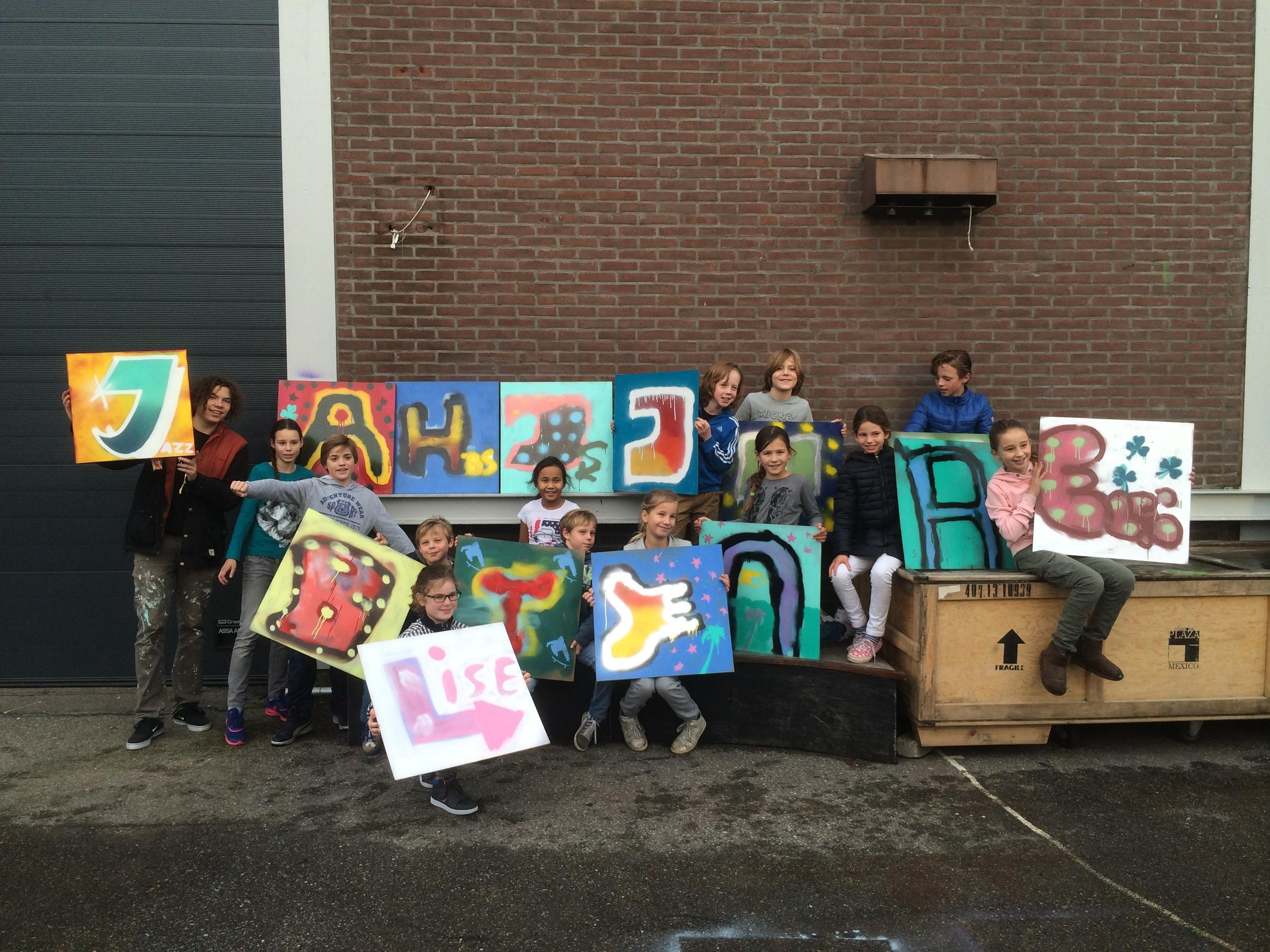 Graffiti feestje Sweatshop skatepark den Haag 2015.JPG