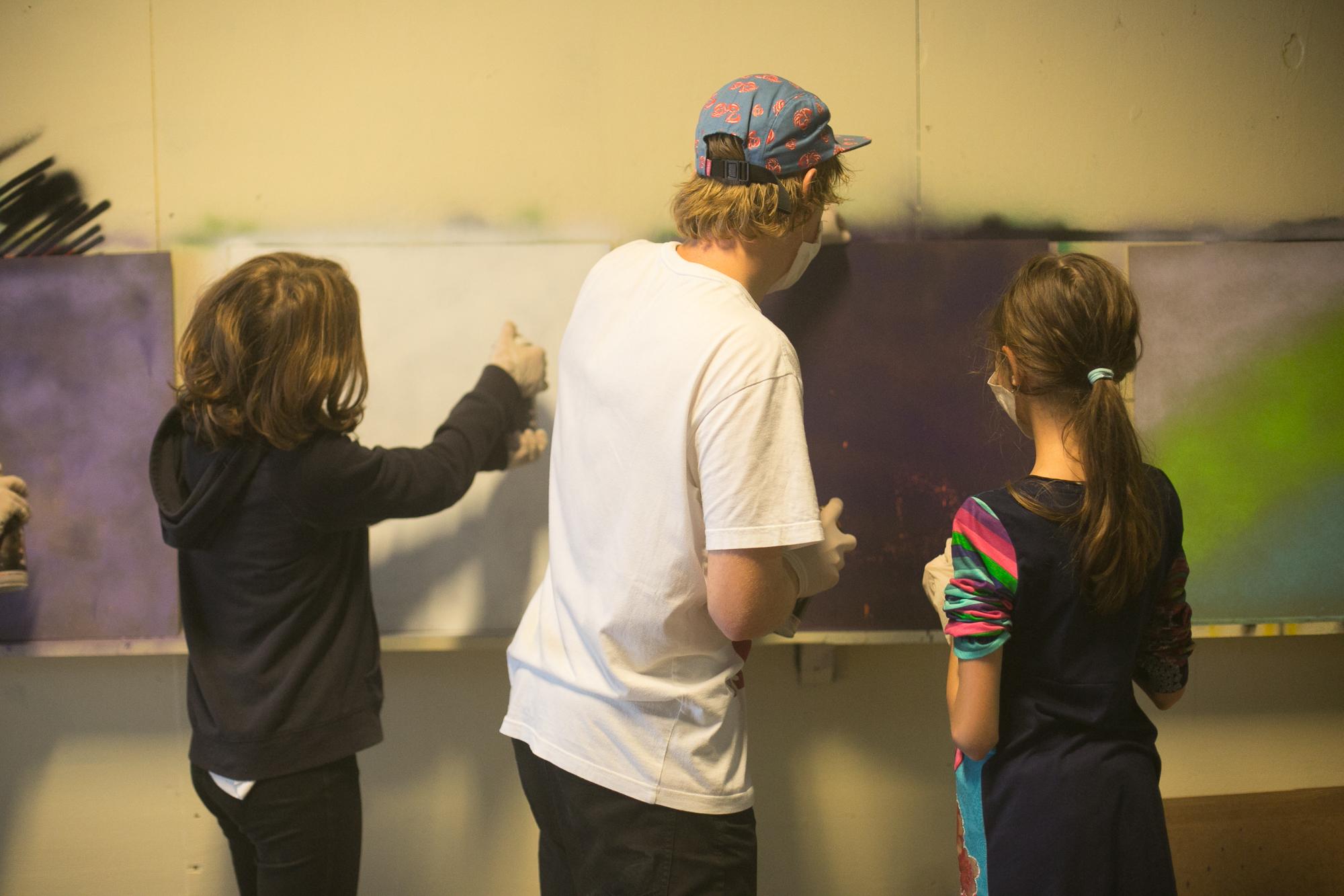 Graffitiles Graffitiworkshop Kinderfeestje opvang skateparksweatshop 2015.jpg