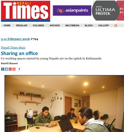 Nepali Times: 02.11.2016