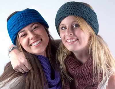 Knit 3-in-1 , $15 Know someone who's always cold? Cover all the bases: this knit transforms from a foldover headband, to a neck muffler, to a hand-warmer.