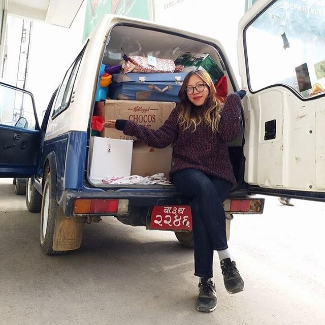Our founder Haushala helped Santa deliver all of this to Life Vision Academy! Thank you so much to everyone who enabled us to fill our school with presents, treats and lots of Christmas magic!! 🎅🍭🍫🎁🎉🎄😍 #grateful #cyfnepal #cyfchristmas #lifeincyf . . . #lifevisionacademy #christmas #christmas2017 #christmasmagic #santa #santashelper #christmaseve #nepalchristmas