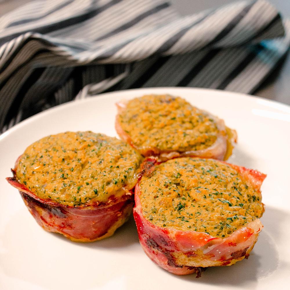 Prosciutto-Wrapped Veggie Egg Bites VitaLeigh