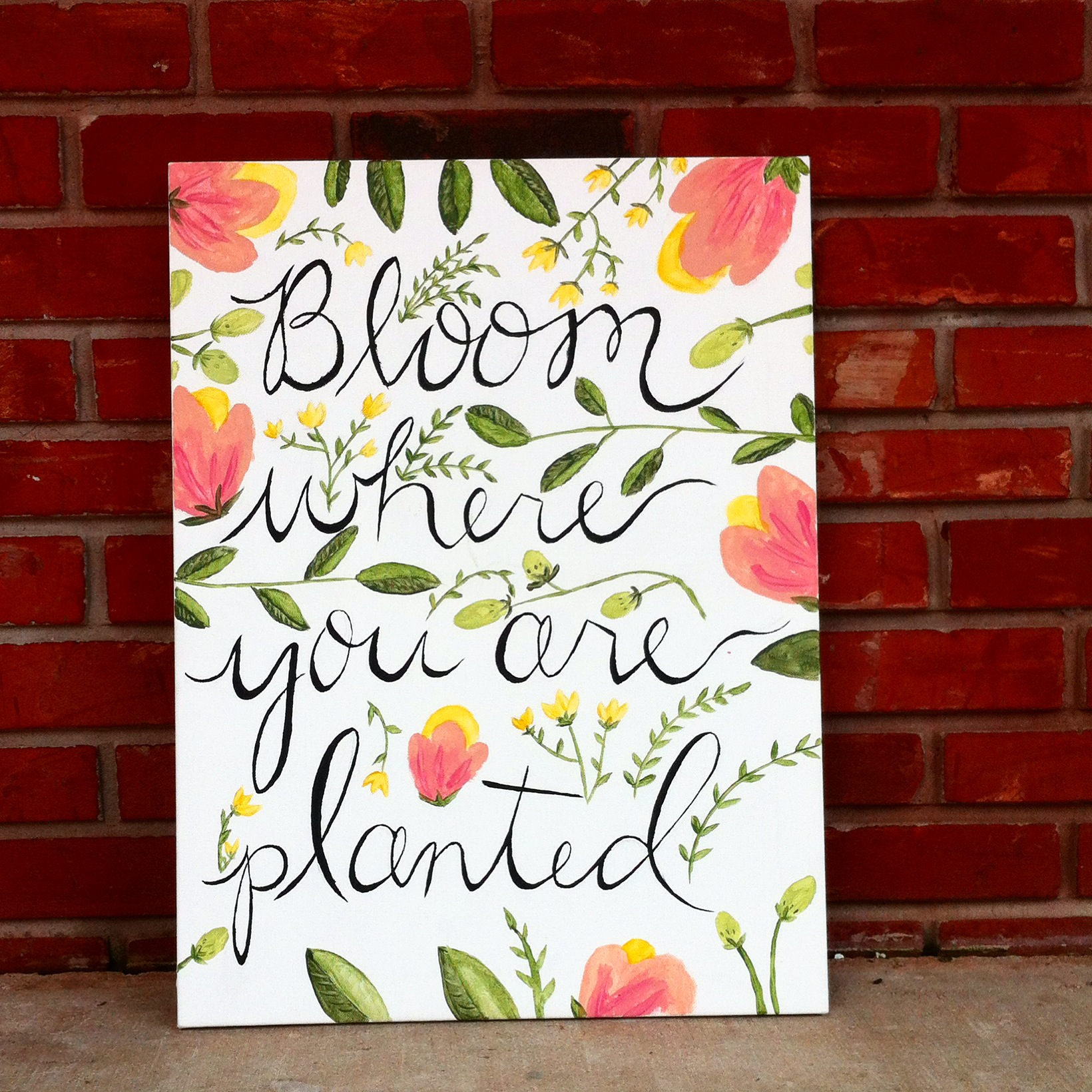 Bloom where you are planted vitaleigh
