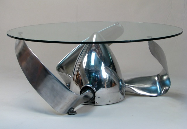 Nose Cone Coffee Table