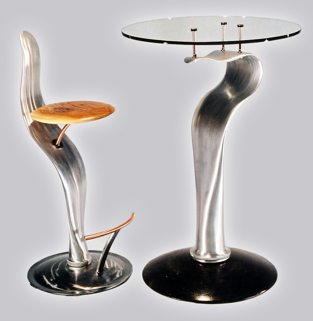 Propeller Stool & Table
