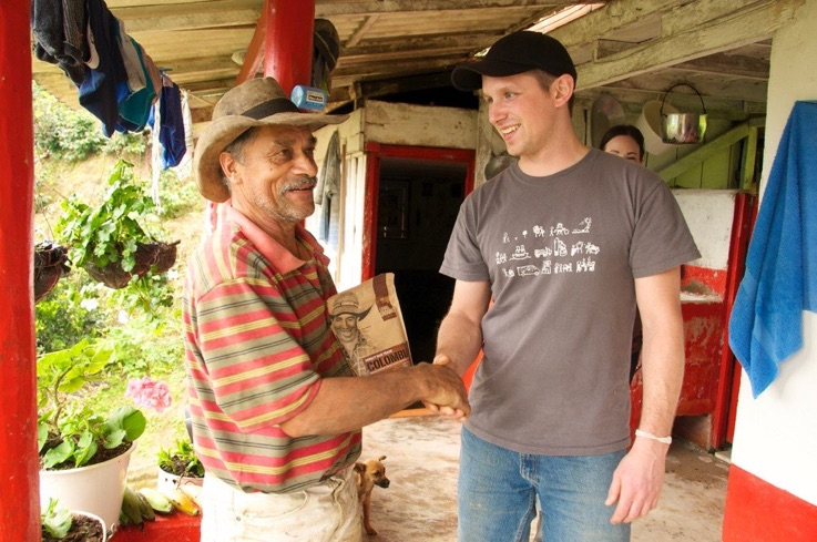 Jamie Martin, Coffee Farmer