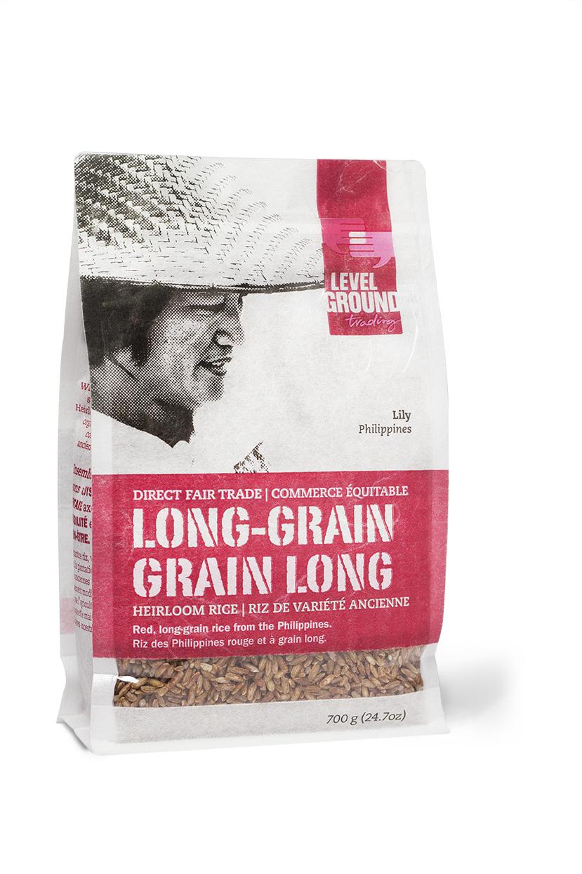 Long-Grain Rice Package
