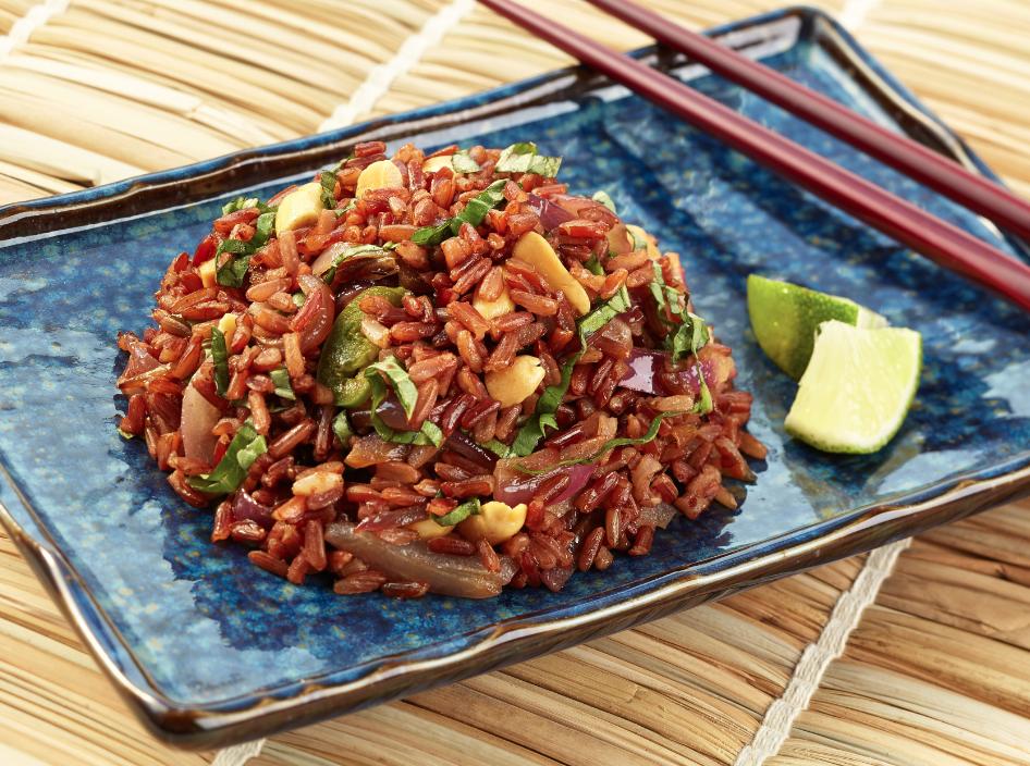 Long-grain rice with cilantro recipe