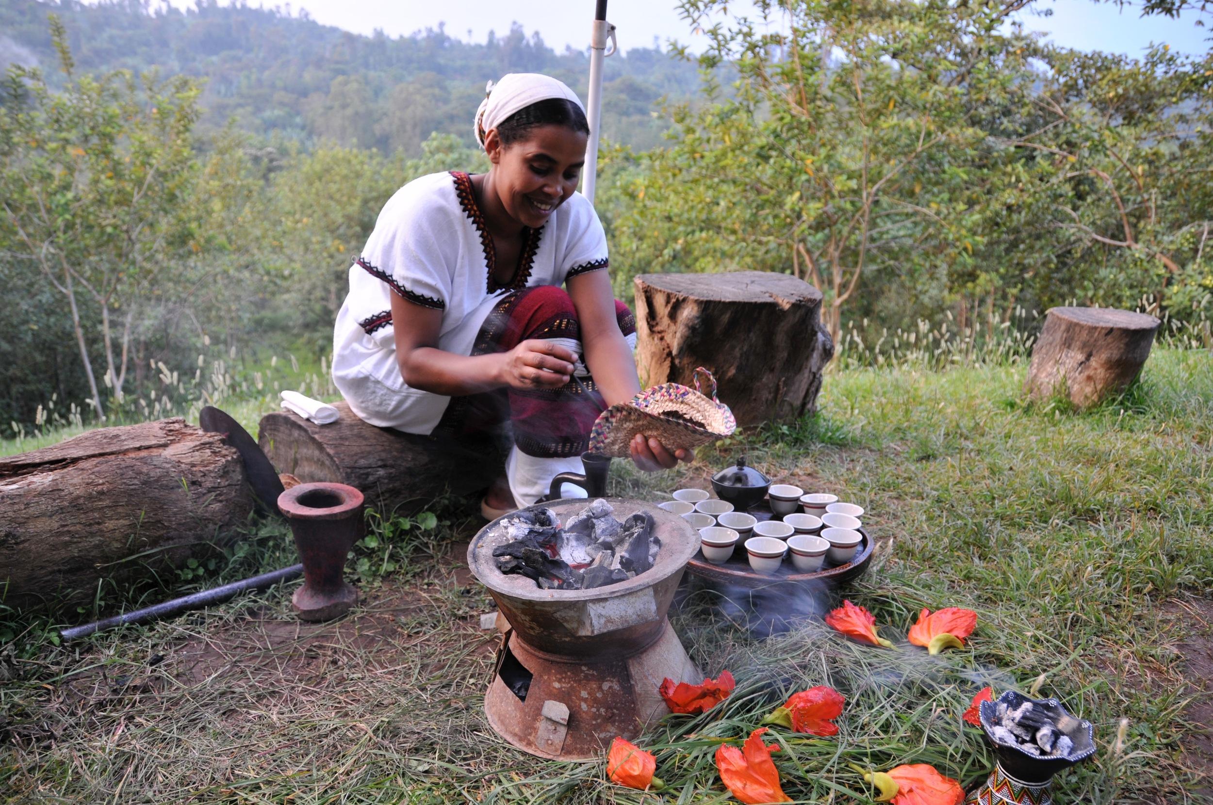 Rawada, the face of Ethiopian coffee.