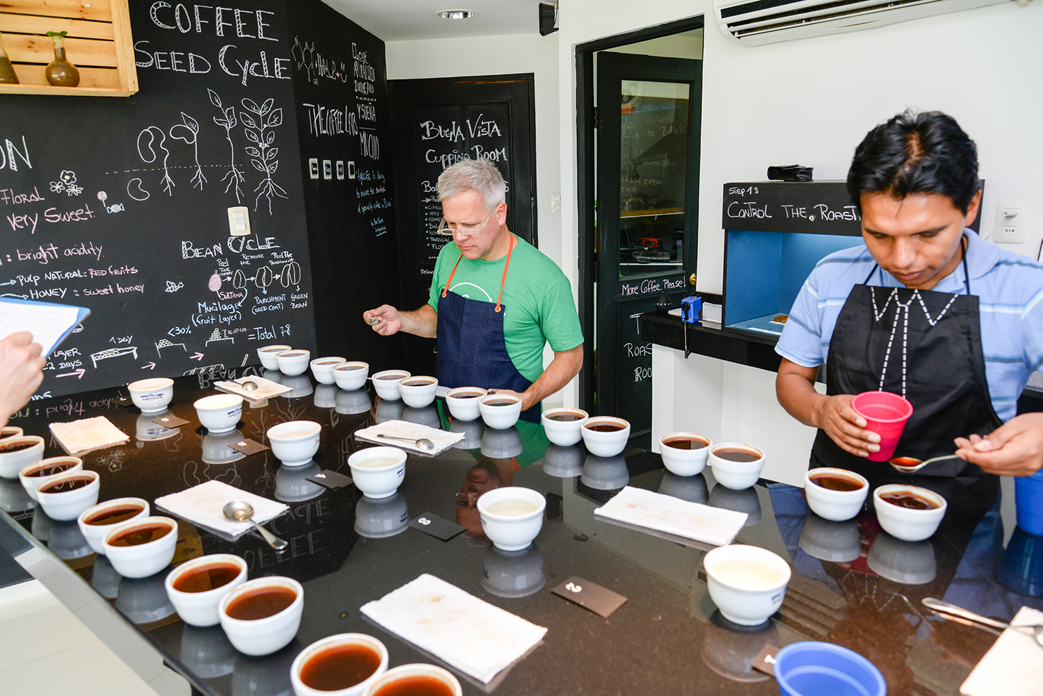 Agricafe coffee cupping