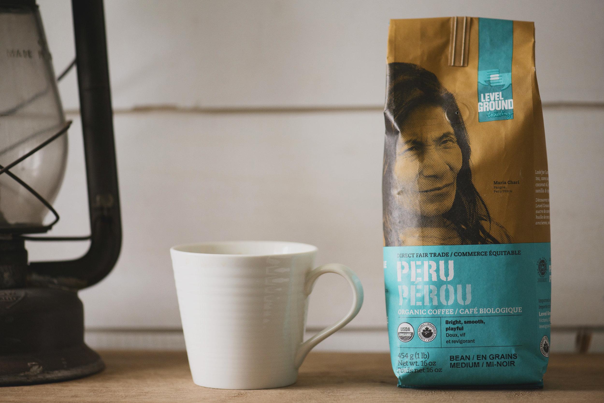 French Press Peru coffee