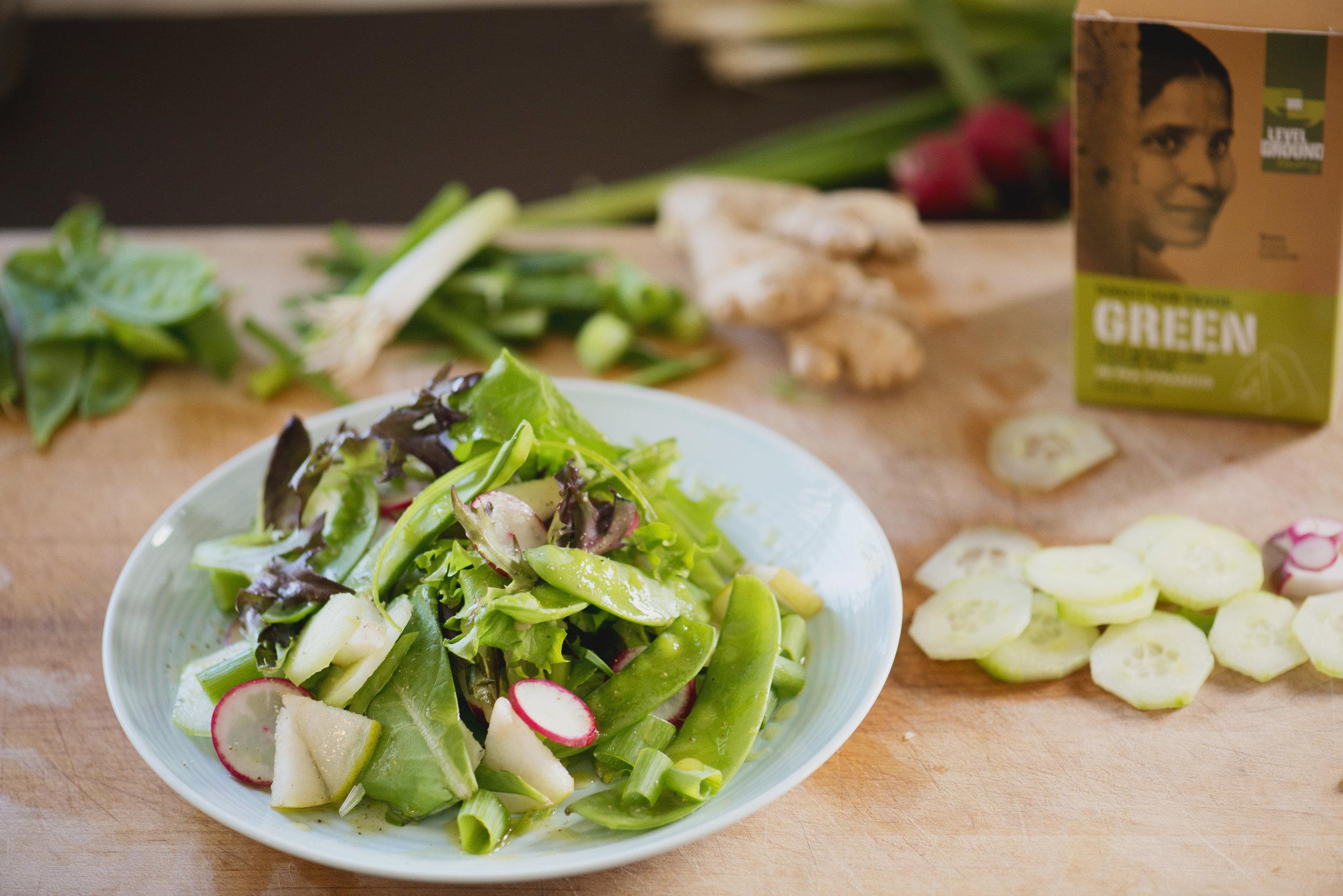 Green Tea Vinaigrette Recipe