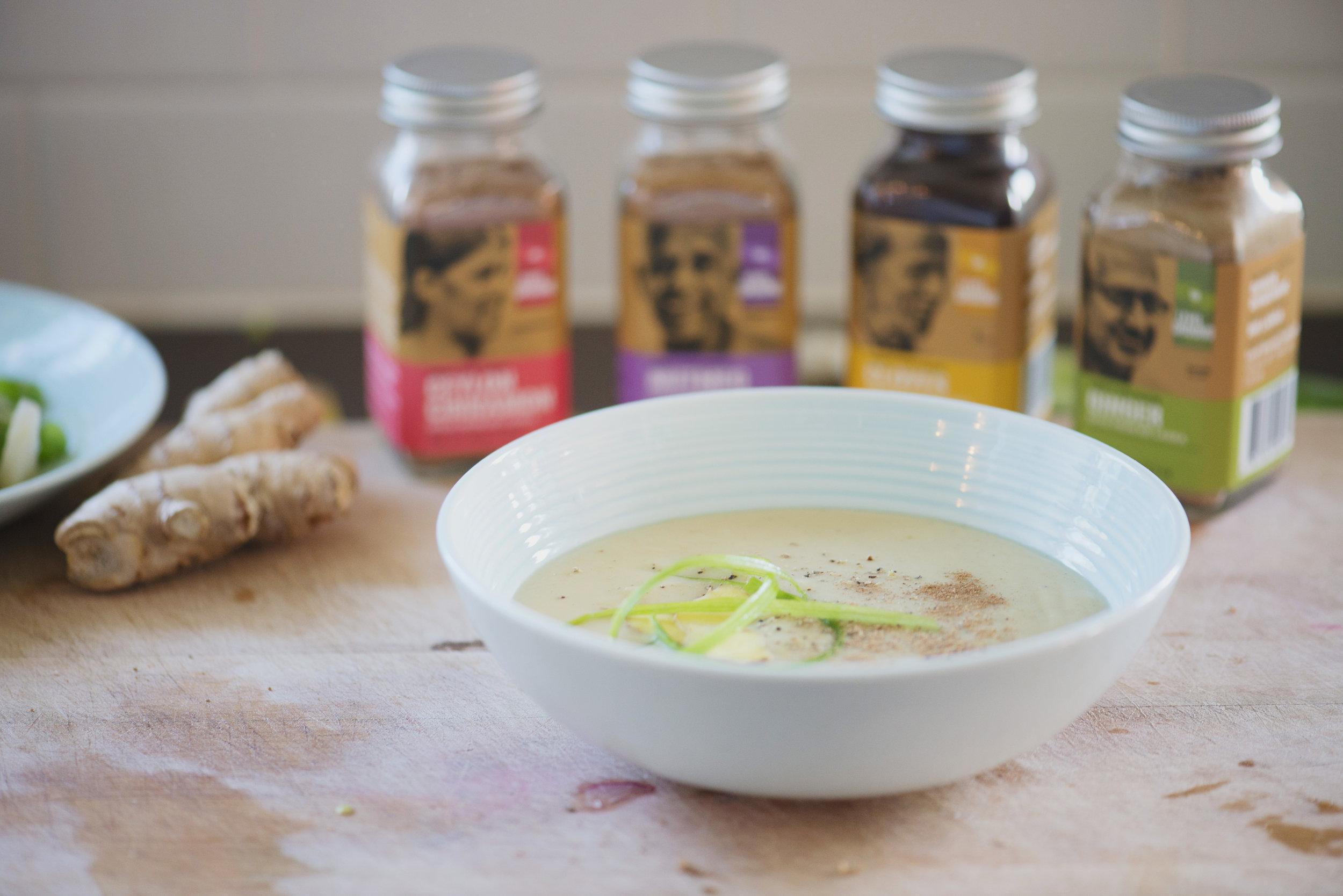 Roasted Acorn Squash Soup Recipe