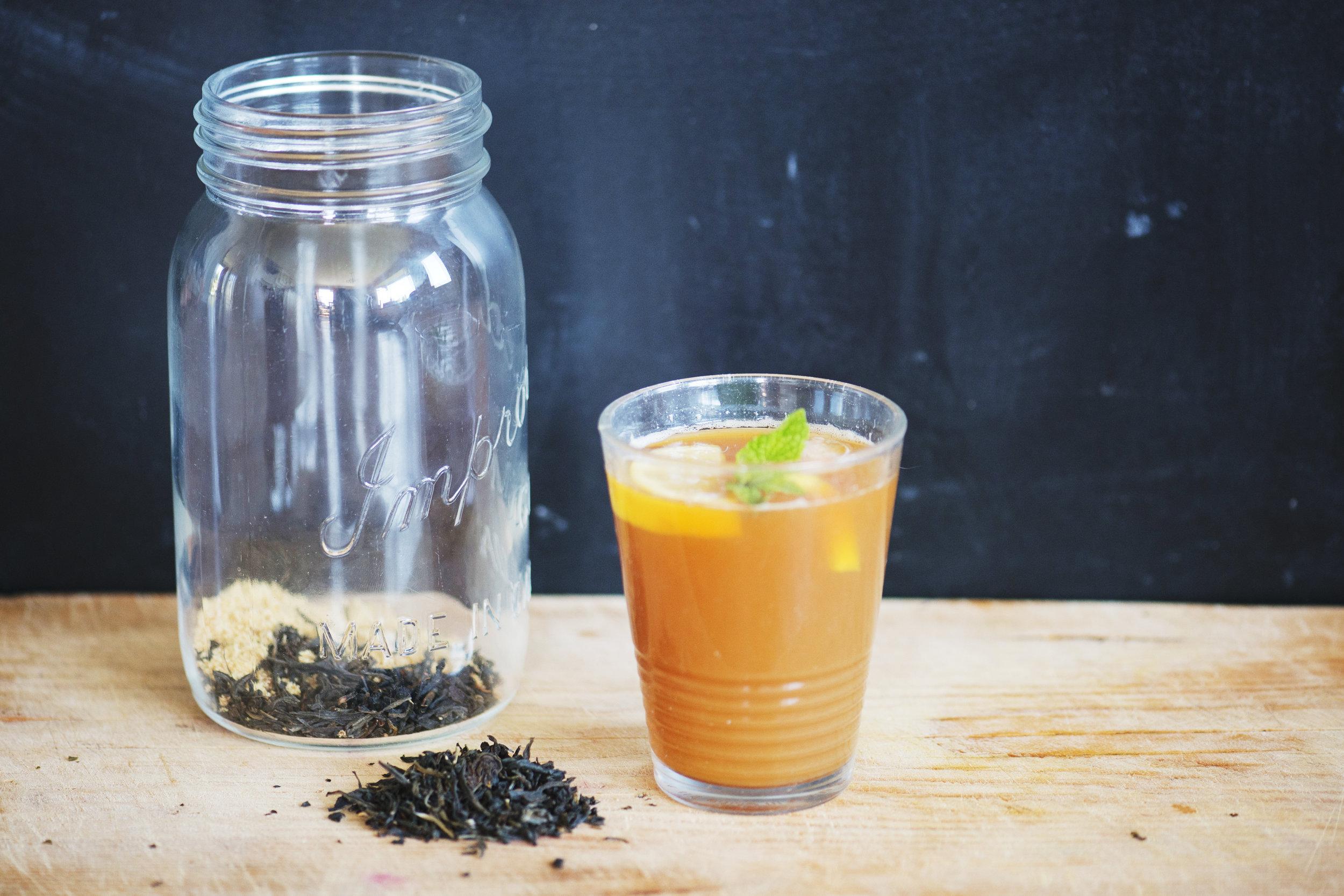 Fair Trade Iced Black Tea Recipe