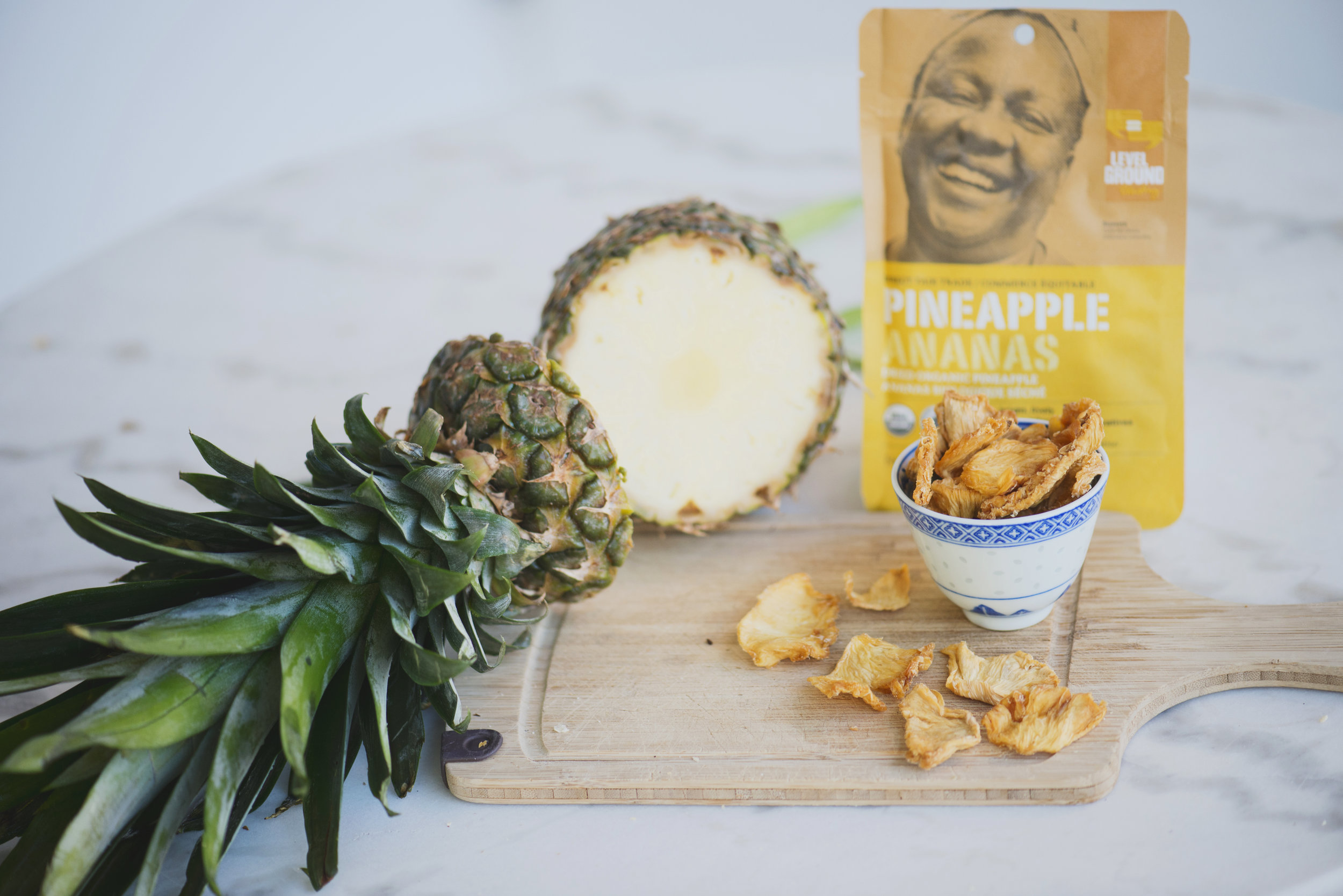 Level Ground pineapple package