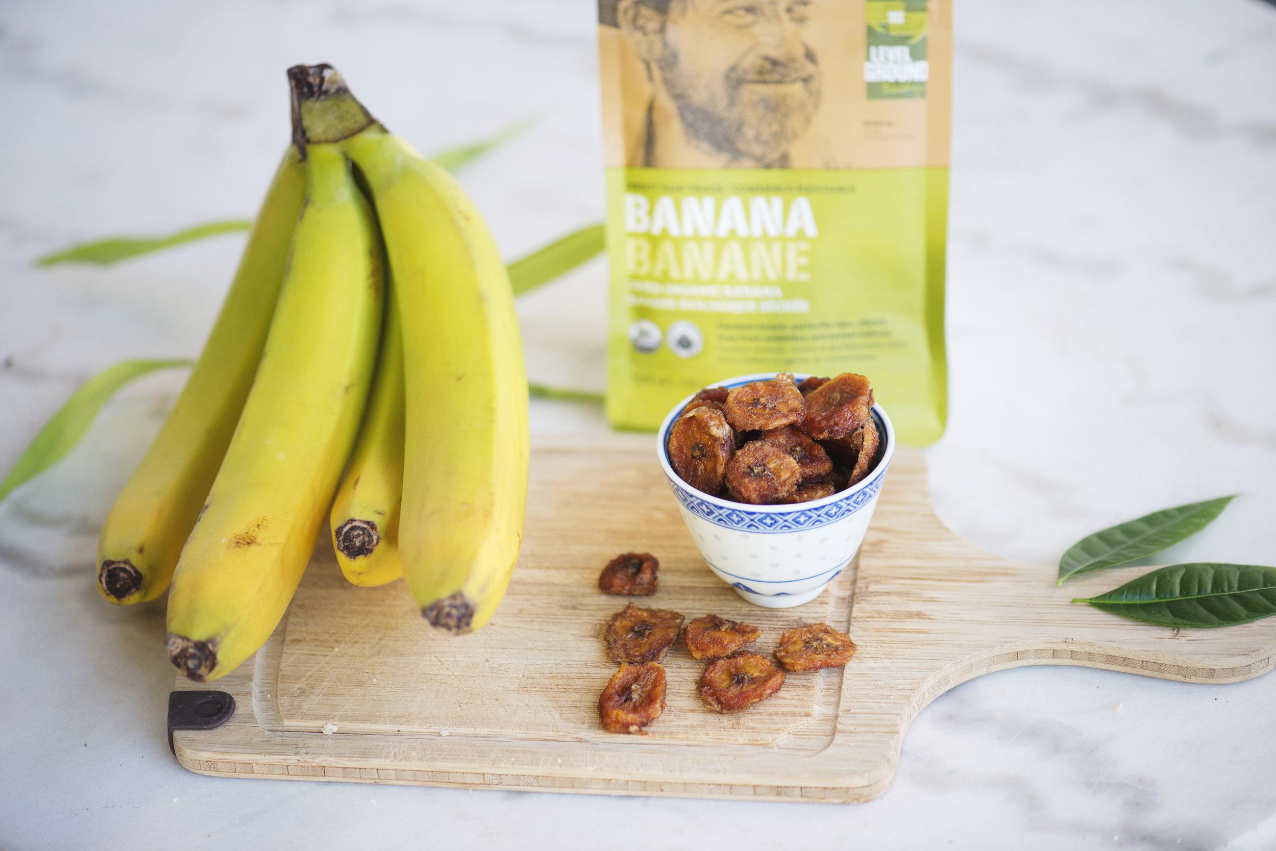 Level Ground banana package