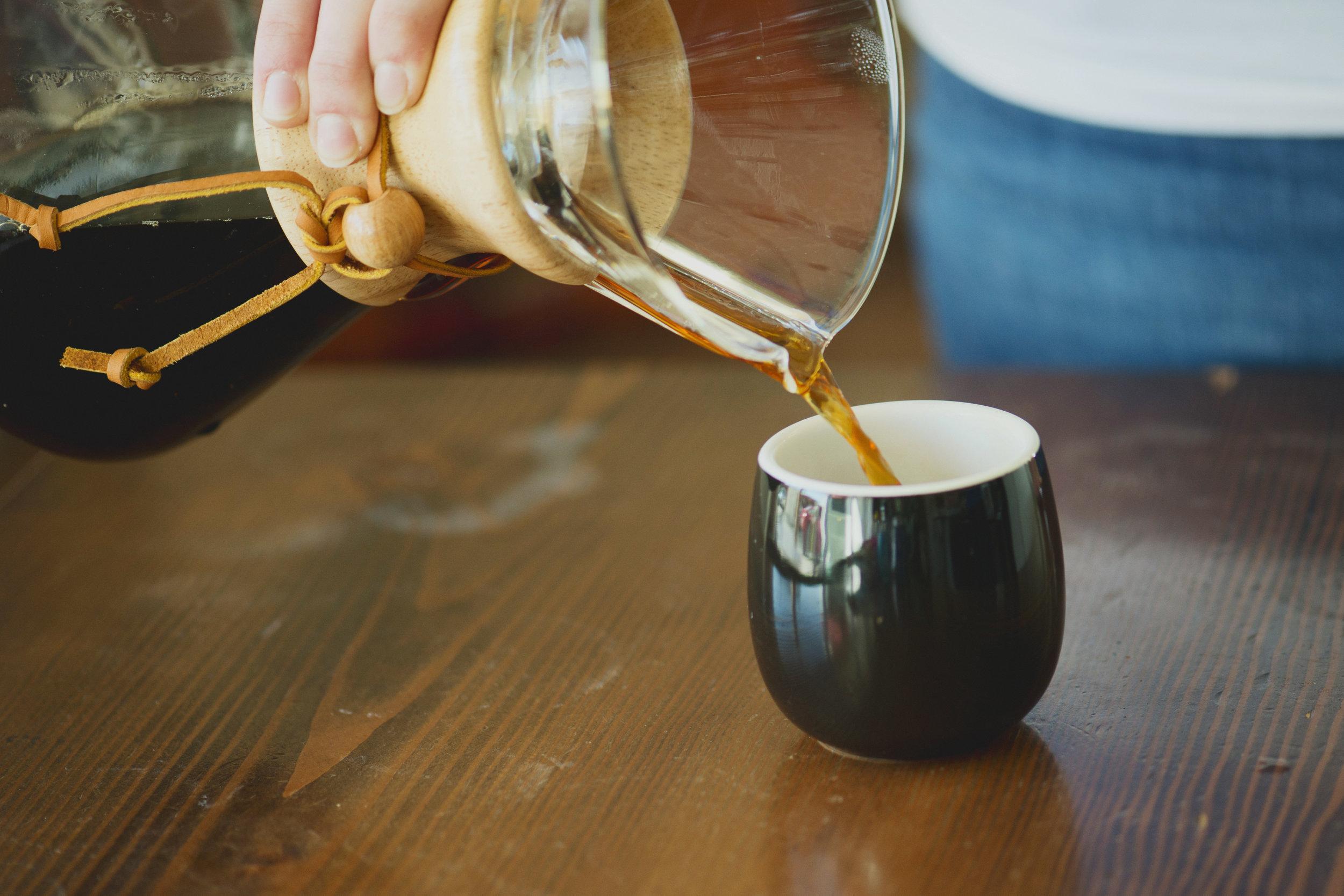How To Brew Chemex Coffee