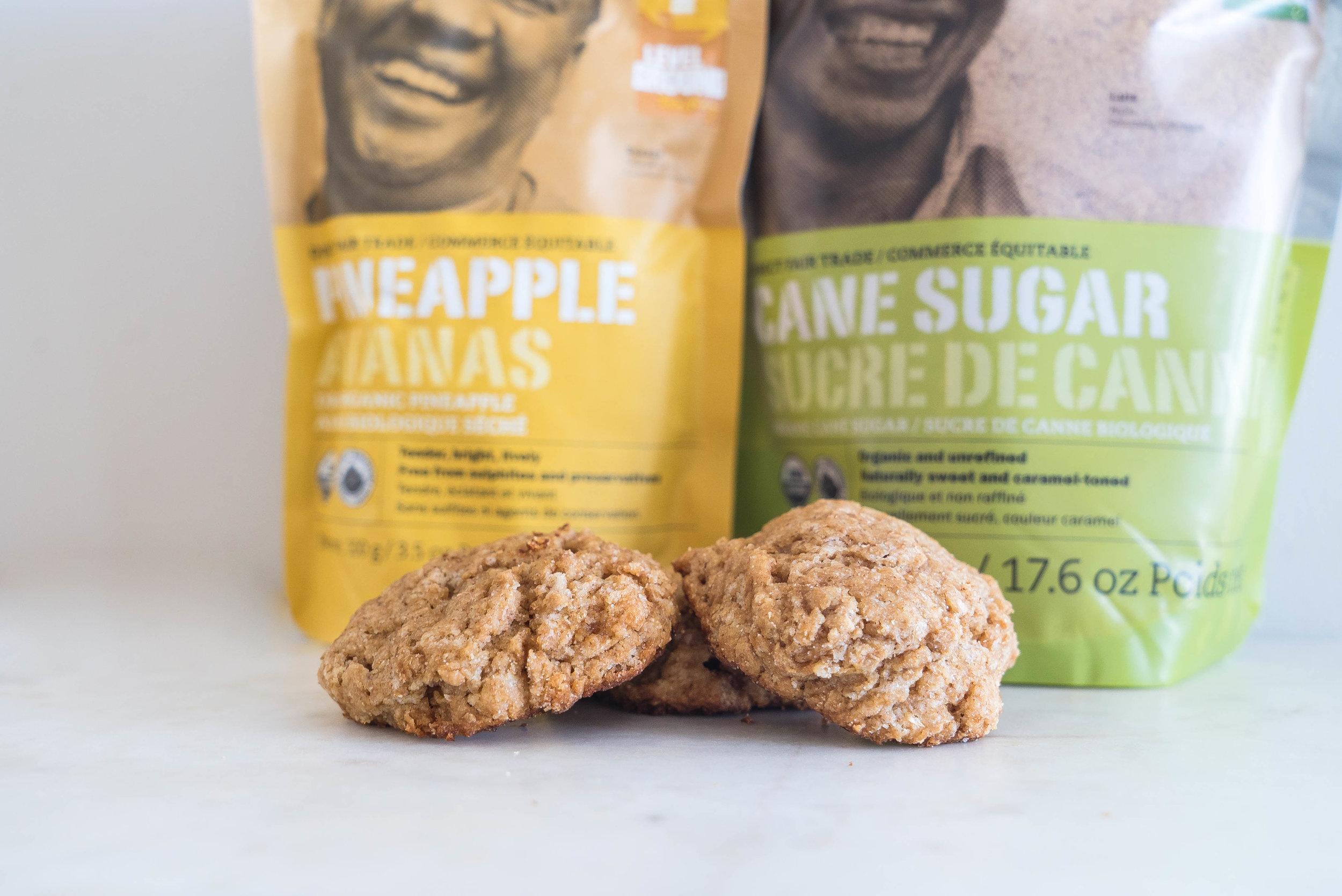 Fair Trade Pineapple Scone Recipe