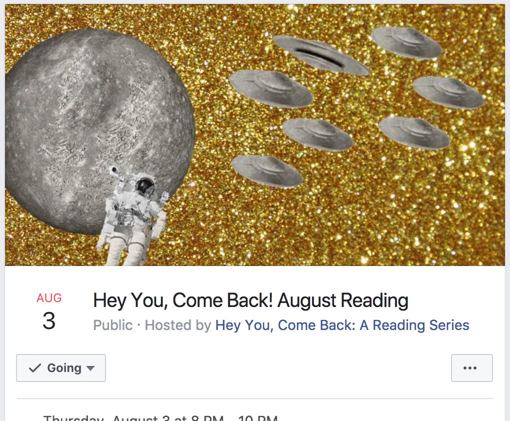 Digital image for a Facebook event