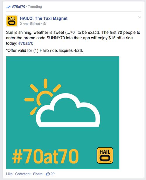 #70at70 trending