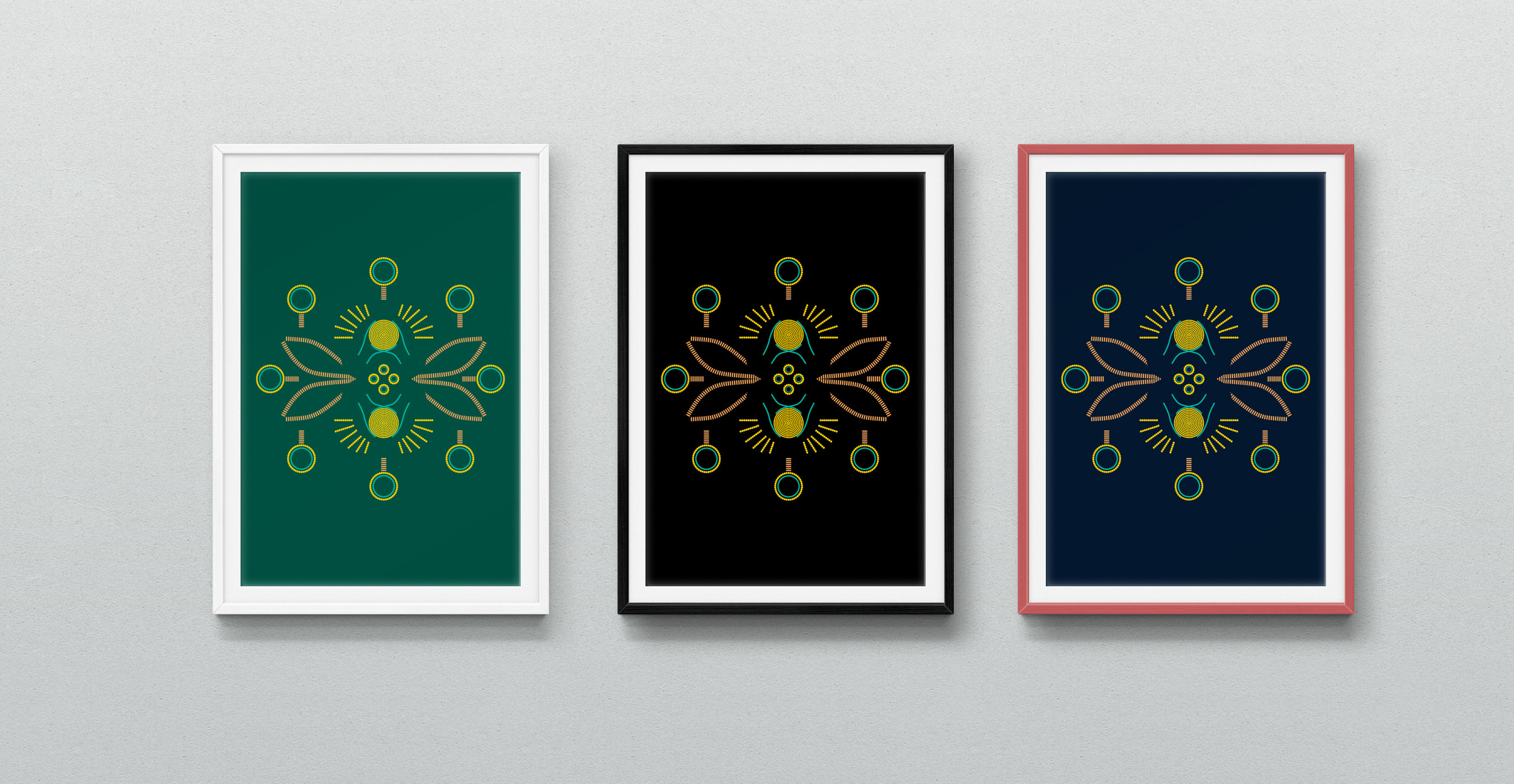 Golden Bees posters