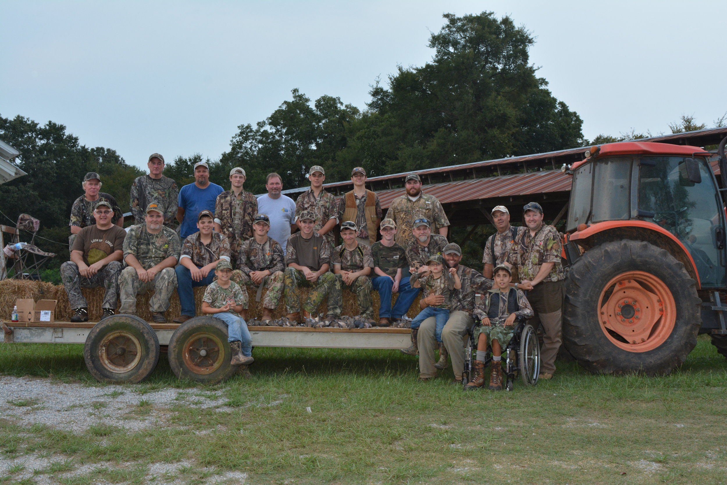 2015 Dove Hunt partnering with The Outdoor Dream Foundation
