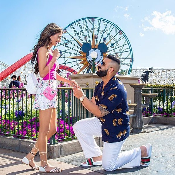 This Beach Bouquet Bachelorette is officially off the market! I'm in awe of how perfect Ajay planned this proposal. And what more perfect place than @disneyland, where dreams really do come true! The fairytale is just beginning and we are sooo incredibly excited to be a part of this journey with you and getting the chance to witness #afilmelovestory💕 Thank you Ms. @erickavirk - xo♡i ________________________________________________ 💖 Planning a destination wedding or luxury vacation of a lifetime, and have no clue where to start? . 🗓 Book your complimentary, consultation to get all your questions answered by our award winning team 🏆 . 💌 info@beachbouquet.ca 💻 www.beachbouquet.ca 📱 @beachbouquet on Insta & FB . 🚫 2019 Bridal Calendar Officially Closed💁🏽‍♀️ HELLO 2020,2021,2022 ________________________________________________  #disneyland #disneyengagement #weddingphotography #beachbouquet #dreamwedding #luxurywedding #destinationwedding #destinationweddingplanner #hardrockwedding #palaceresortswedding #moonpalacewedding #luxurytravelagent #wedding #engagementring #engagementphoto #engagementparty #engagementshoot #indiandestinationwedding #destinationindianwedding #destinationindianweddingplanner #destinationweddingphotographer #indiandestinationweddingplanner