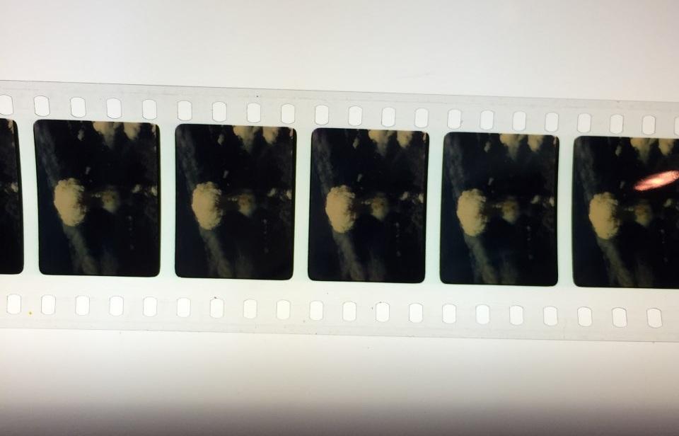Nagasaki bombing film reel