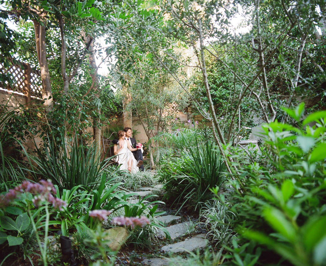 Backyard wedding by Napa based Erin Hearts Court